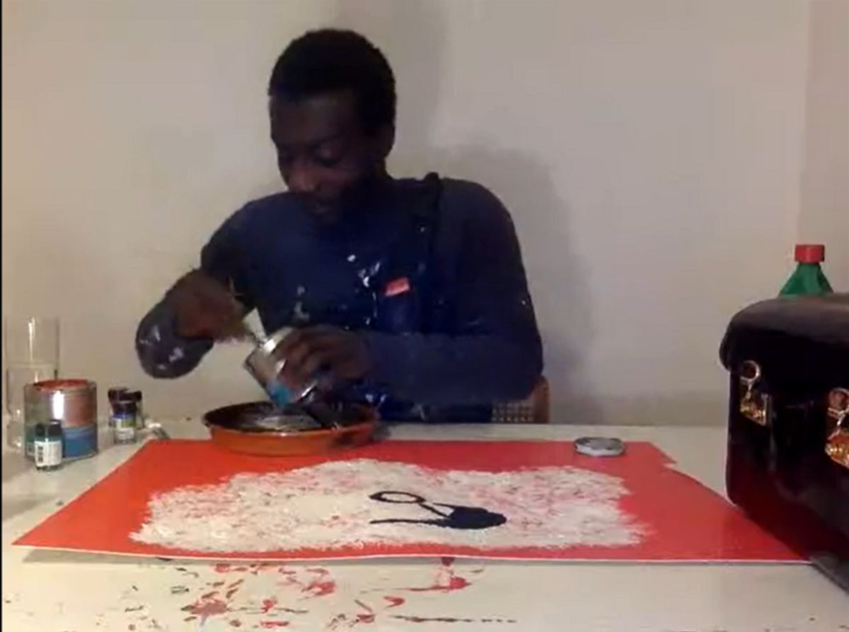 KWEKU AFRAM Live Painting Session event impressions #2