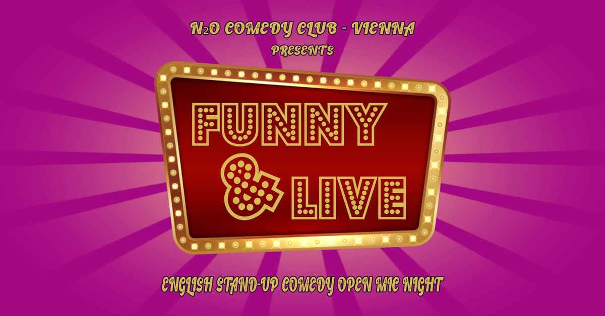 Funny & Live - English Stand-Up Comedy Open Mic Night event impressions #1