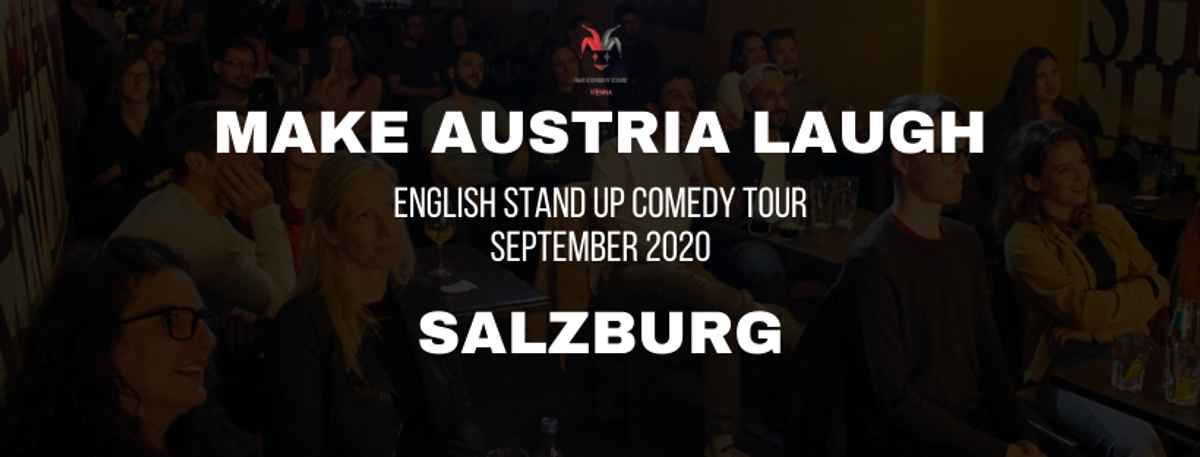 Make Austria Laugh - English Stand-Up Comedy Tour 2020 - Salzburg event impressions #1