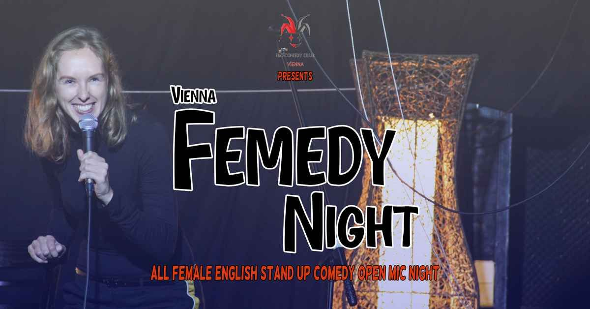 Vienna Femedy Night - All Female English Stand-Up Comedy Open Mic event impressions #2