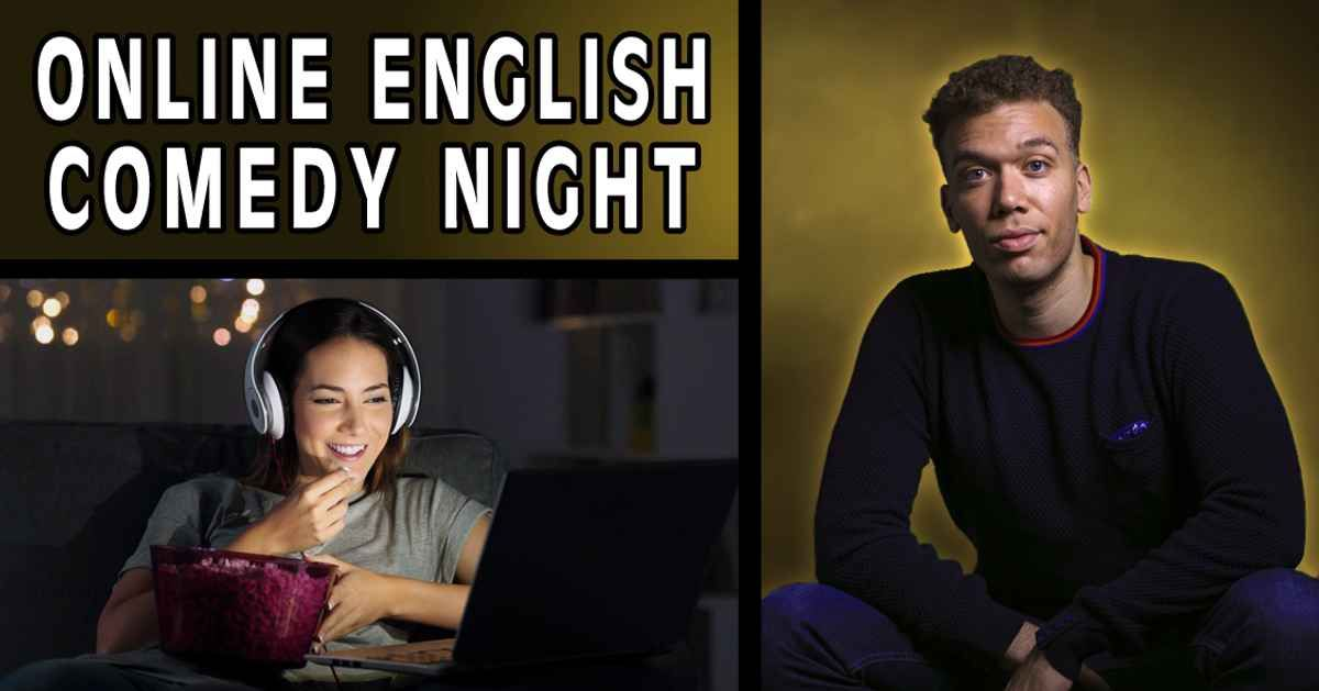 Online English Comedy Night event impressions #1