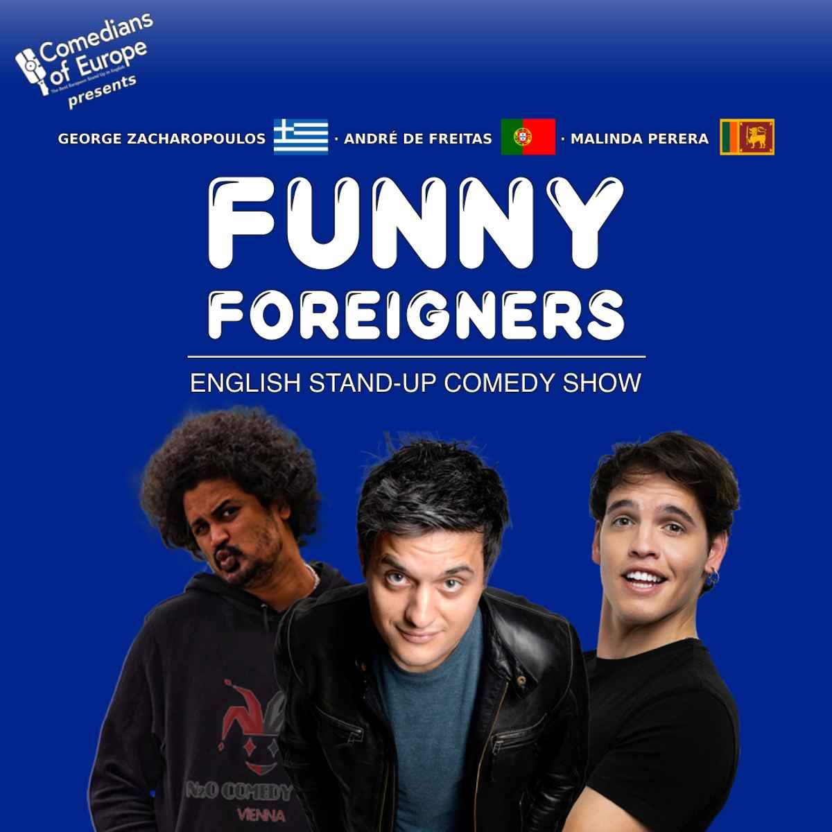 Funny Foreigners - English Stand Up Comedy Show event impressions #2