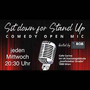 Sit down for Stand Up - Comedy Open Mic hosted by ROB event impressions #1