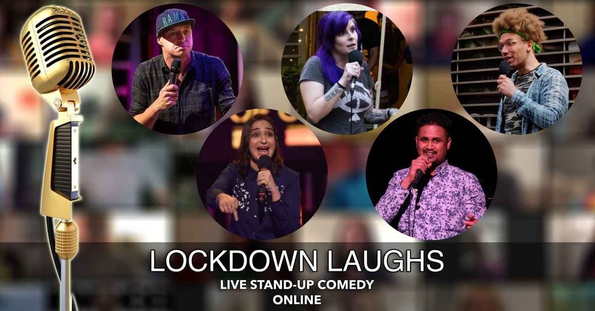 Lockdown Laughs - Live English Stand Up Comedy (Online) event impressions #1