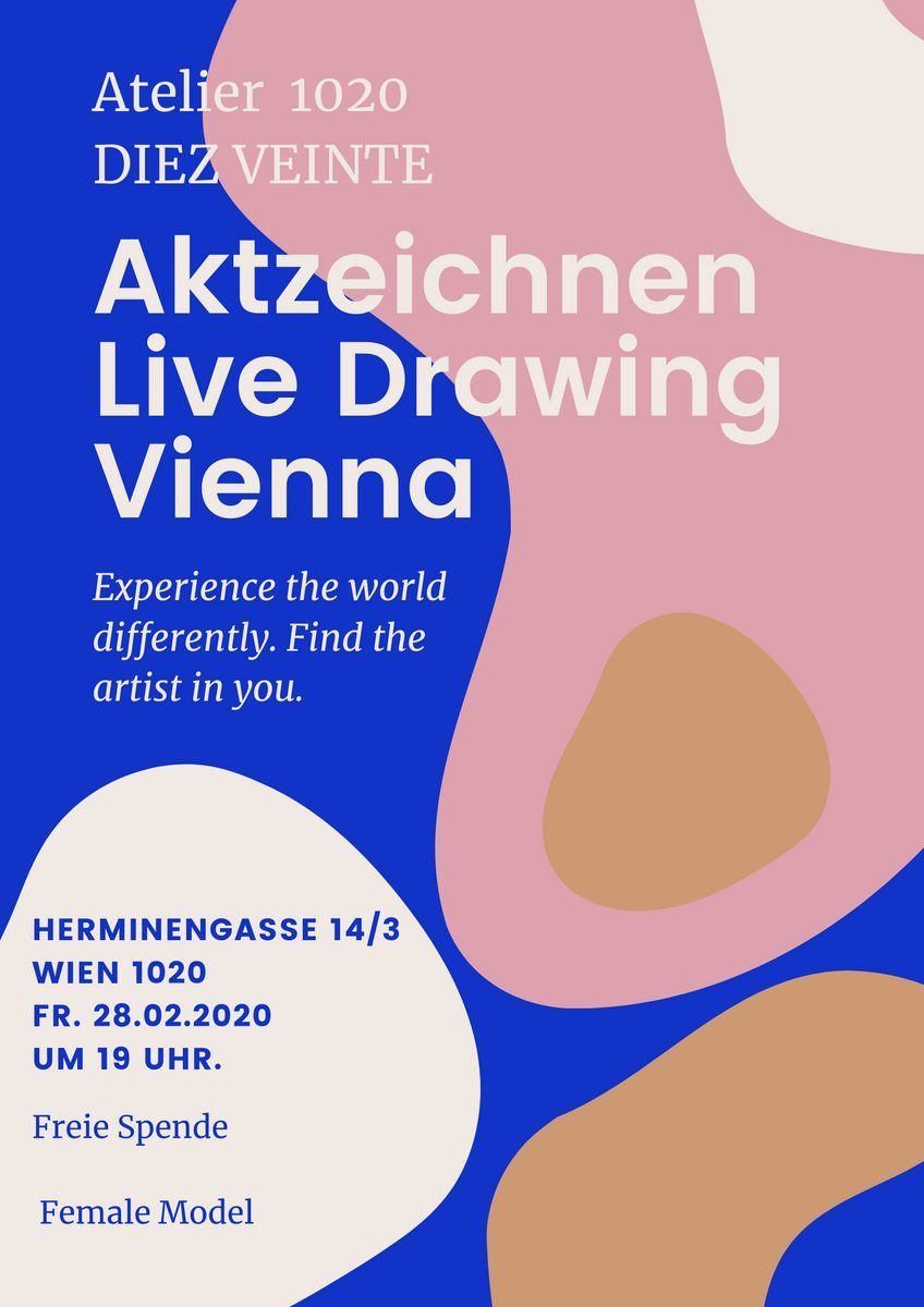 Live Drawing Wien 1020 event impressions #1
