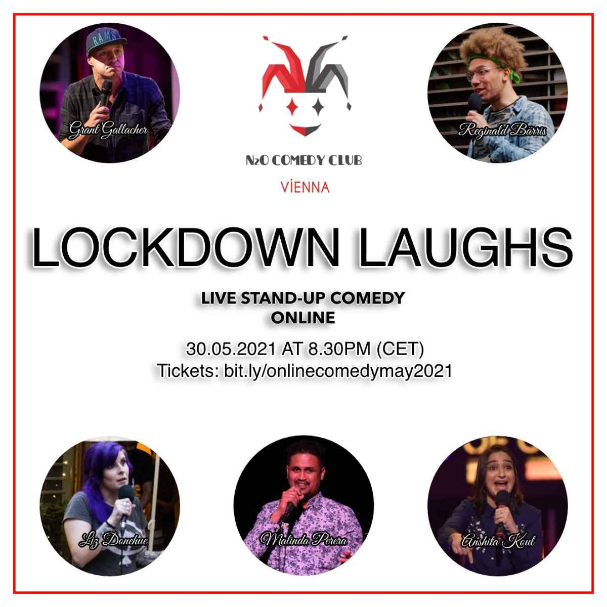 Lockdown Laughs - Live English Stand Up Comedy (Online) event impressions #2