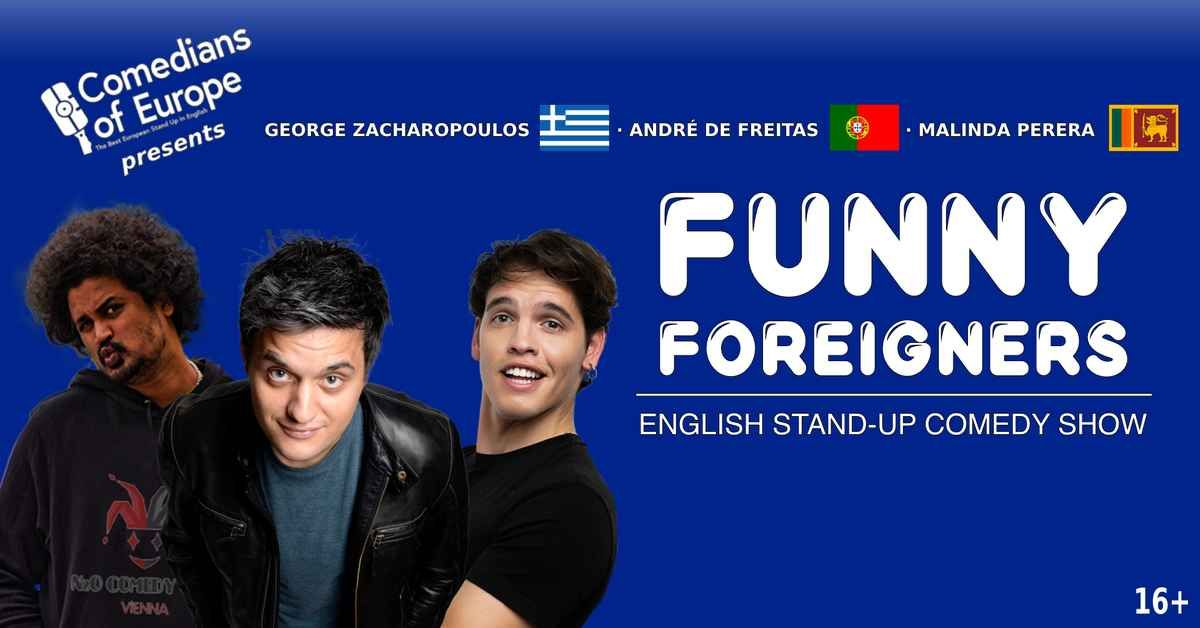 Funny Foreigners - English Stand Up Comedy Show event impressions #1