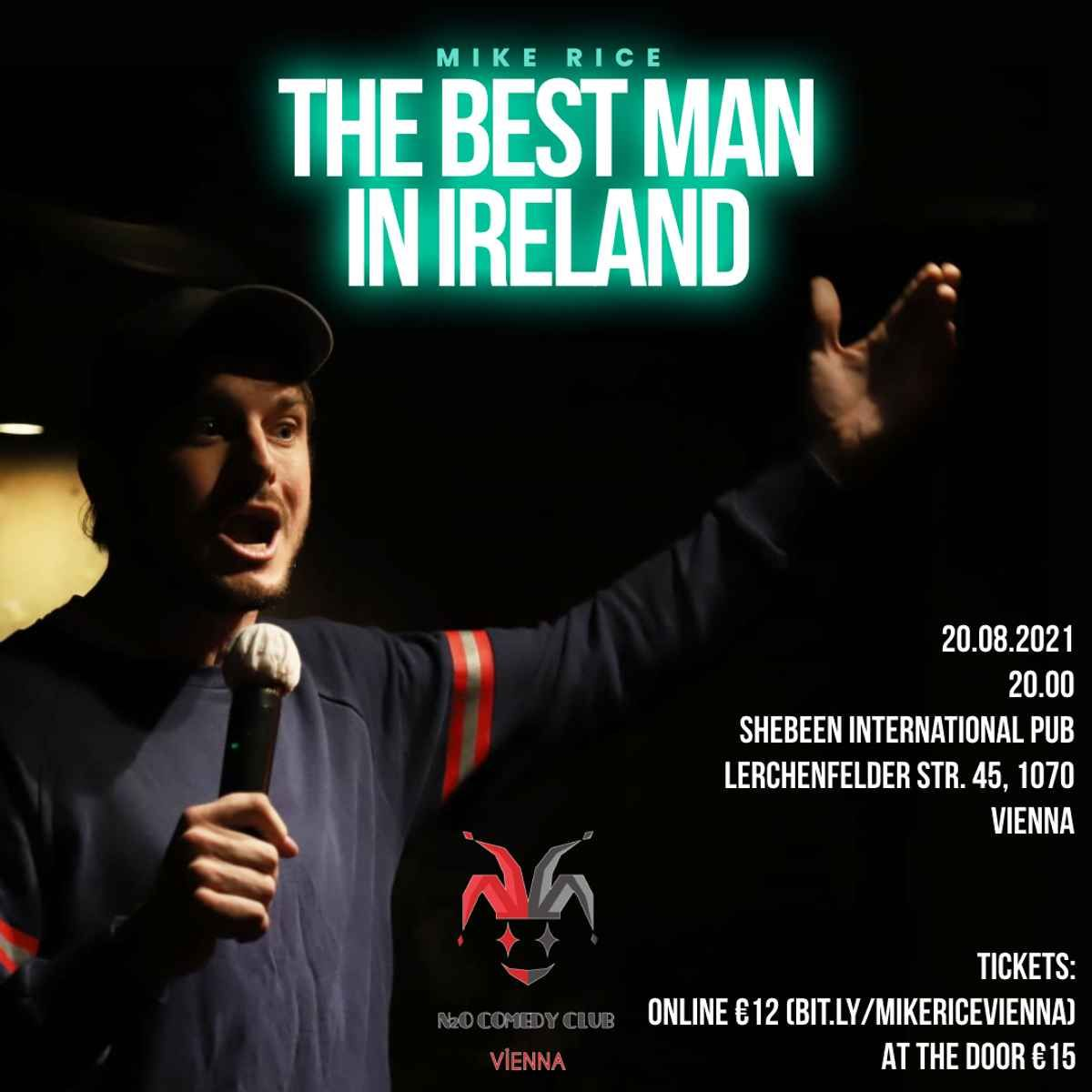 Mike Rice (IE) - English Stand-Up Comedy Night event impressions #2